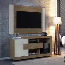Painel para TV até 42 Polegadas Furnas Linea Brasil Flex Color Avelã/Off White -
