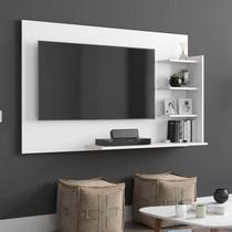 Painel para TV até 42 Polegadas Life EJ Móveis Branco -