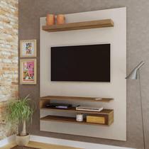 Painel para TV até 42 Polegadas Orion Artely Off White/Pinho -