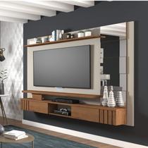 Painel para TV até 46 Polegadas Chorme Siena Móveis Off White/Savana -