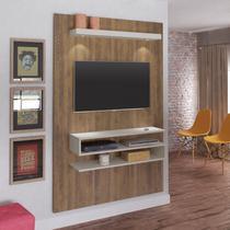 Painel para TV até 47 Polegadas com LED Nexus Artely Pinho/Off White -