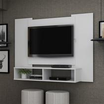 Painel Para TV Até 47 Polegadas Silver Branco Acetinado - Gelius -