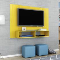Painel para TV até 48 Polegadas Navi Amarelo - Bechara -