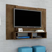 Painel para TV até 48 Polegadas Navi Madeira Rústica 120 cm - Móveis bechara