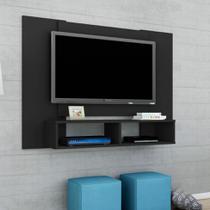 Painel para TV até 48 Polegadas Navi Preto Fosco - Móveis bechara