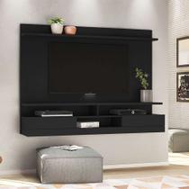 Painel para TV até 48 Polegadas Vostok Preto - Olivar móveis