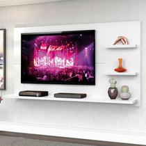 Painel para TV até 49 polegadas New Clean Branco - Zanzini