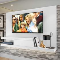 Painel para TV até 50 Polegadas 1 Gaveta KD1601 Home Quiditá Branco -