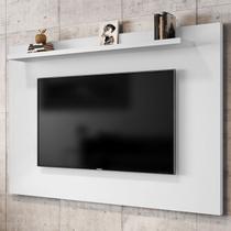 Painel Para Tv Até 50 Polegadas 1 Prateleira Kenzo 2075705 Branco - Bechara Móveis - Móveis Bechara