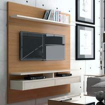 Painel para TV até 50 Polegadas 1,60m 2 Gavetas Versatile Casa D Noce/Off White -