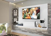 Painel para TV até 50 polegadas c/ 1 gaveta Branco - Quiditá -