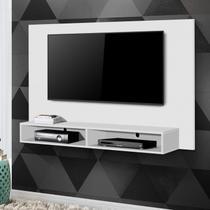 Painel para TV até 50 Polegadas com Nicho Luna Siena Móveis Branco -