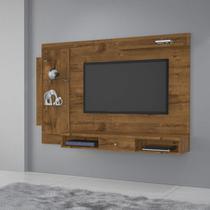 Painel para TV até 50 Polegadas Cromo JCM Móveis Nobre Soft -