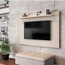 Painel para TV até 50 Polegadas Kenzo Móveis Bechara Off-White -