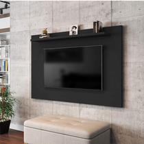 Painel para TV até 50 Polegadas Kenzo Móveis Bechara Preto Fosco -
