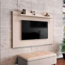 Painel para TV até 50 Polegadas Kenzo Off White - Móveis bechara