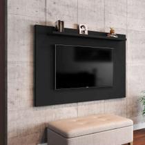 Painel para TV até 50 Polegadas Kenzo Preto - Móveis bechara