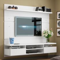 Painel para TV até  50 Polegadas Live Branco 180 cm - Mobly