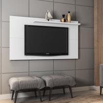 Painel para TV até 50 Polegadas Móveis Bechara Branco -