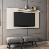 Painel para TV até 50 Polegadas Móveis Bechara Off-White -