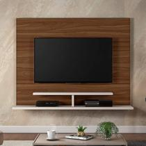 Painel para TV até 50 Polegadas Sonic Siena Móveis Rovere/Off White -