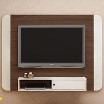 Painel Para Tv Até 50 Polegadas Wave Amêndoa/off White - Artely - Artely Móveis