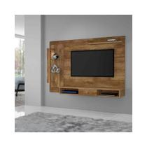 Painel para TV até 50Pol Cromo Candian Nobre - JCM Movelaria - Jcm móveis