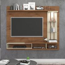 Painel para TV até 55 Polegadas com LED Vitória Permobili Savana/Off White -