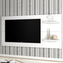 Painel para tv até 55 polegadas giz branco - mobilarte -