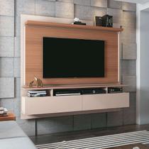 Painel para TV até 55 Polegadas Limit II Marrom Deck e Off White - Hb móveis
