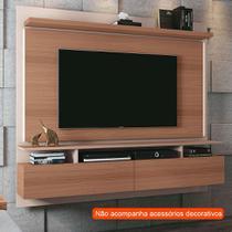 Painel para TV até 55 Polegadas Limit Marrom Nature e Off White - Hb móveis
