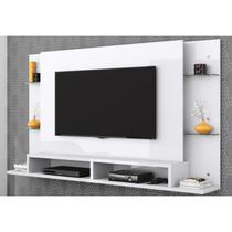 Painel para TV até 55 Polegadas Malbec Branco - Belaflex -