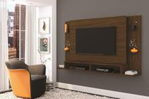 Painel para TV até 55 Polegadas Malbec Conhaque - Mobler -