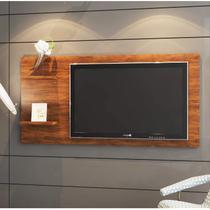 Painel para TV até 55 Polegadas Top Siena Móveis Off White/Pinho -