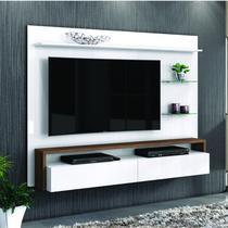 Painel para TV até 58 Polegadas Toronto Living Belaflex Branco/Malte -