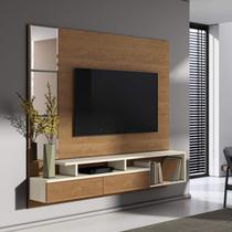 Painel para TV até 58 Polegadas Veneza Belaflex Nature/Off White -