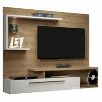 Painel para TV até 60 Floripa  Linea Brasil Avela/Off White -