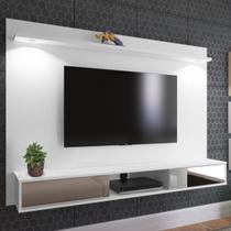 Painel para TV Até 60 Polegadas Platinum 2 Portas Branco - Artely - Artely Móveis