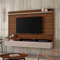 Painel para TV até 60 Polegadas Tulipa Siena Móveis Rovere/Off White -