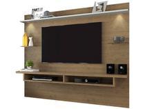 Painel para TV até 65 3 Prateleiras  - Linea Brasil Style