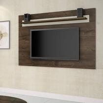 Painel para TV até 70 Polegadas 1 Prateleira Retrô Titanio JCM Móveis -