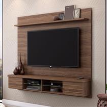 Painel para TV até 70 Polegadas com Prateleira 2 Portas Esplendor Belaflex Malte -