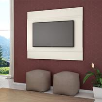 Painel Para TV Bali Cor Off White - Moveis bechara