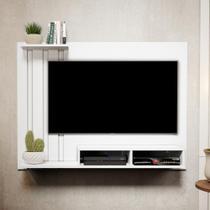 Painel Para Tv de 48 Polegadas Dubai  Branco - Mania de Móveis - Rpm Móveis