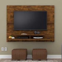 Painel para TV de até 50 Polegadas Mônaco Lukaliam 105x1490x33 cm Canela -