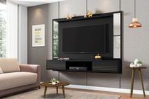 Painel para TV Fontes com Espelho Preto Fosco - Bechara