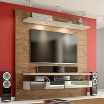 Painel para TV Suspenso 180cm com Led e Espelho TB107E Dalla Costa -