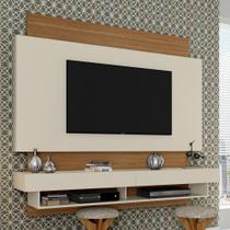 Painel para TV Suspenso Tb115 Off White/Freijo - Dalla costa