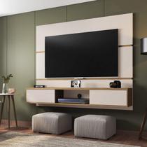 Painel para TVs até 65 Polegadas Com Nicho e Duas Portas Fênix Siena Móveis -
