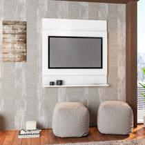 Painel Parede para TV até 36 Polegadas Ontário Sala Contemporâneo Art in Móveis Branco -